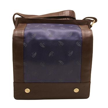 Underwood & Tanner – Brown Leather Mike Shoreditch Medium Messenger Bag