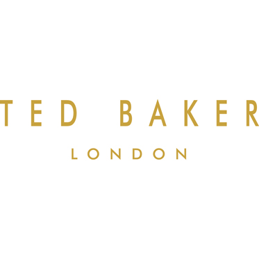 Ted Baker – Brown 'Ted's World' Stainless Steel Hip Flask and Shot Cups