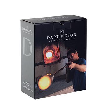 Dartington Crystal – Circle Barware Glass Ice Bucket & Tongs in Gift Box