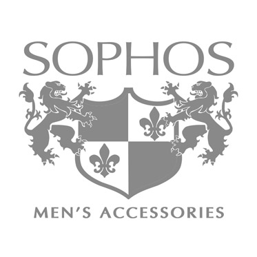 Sophos – Gunmetal & Chrome Cufflinks with Dot Design in Gift Box