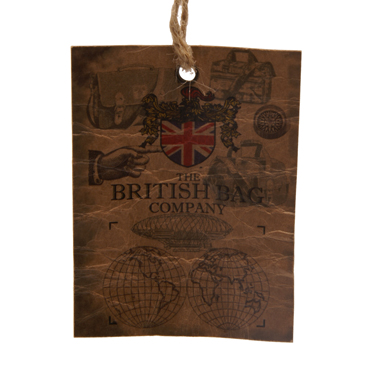 The British Bag Company – Navy Blue Balmoral Travel Organiser in Millerain Waxed Cotton