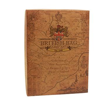The British Bag Company – Stornoway Harris Tweed Wash Bag in Gift Box