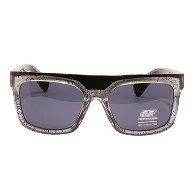 Diesel 55DSL – Black & Silver Ben Dover Classic Wayfarer Style Sunglasses