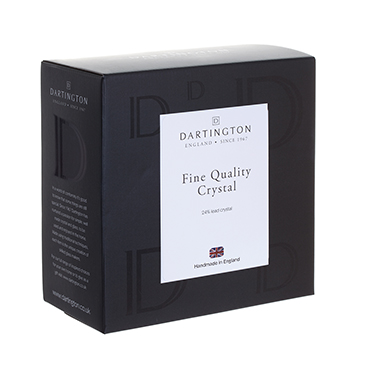 Dartington Glass – Dimple Pair of Shot Glasses in Gift Box