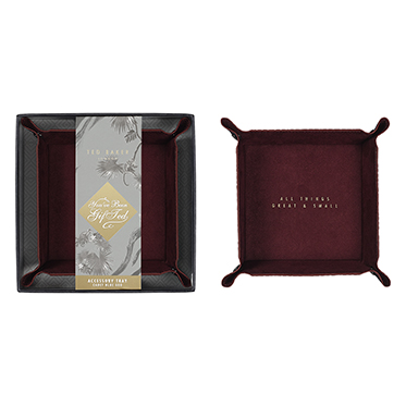 Ted Baker – Blue Cadet Accessory Tray in Presentation Gift Box