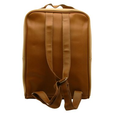 Home Works – Cream Canvas Laptop Rucksack Bag