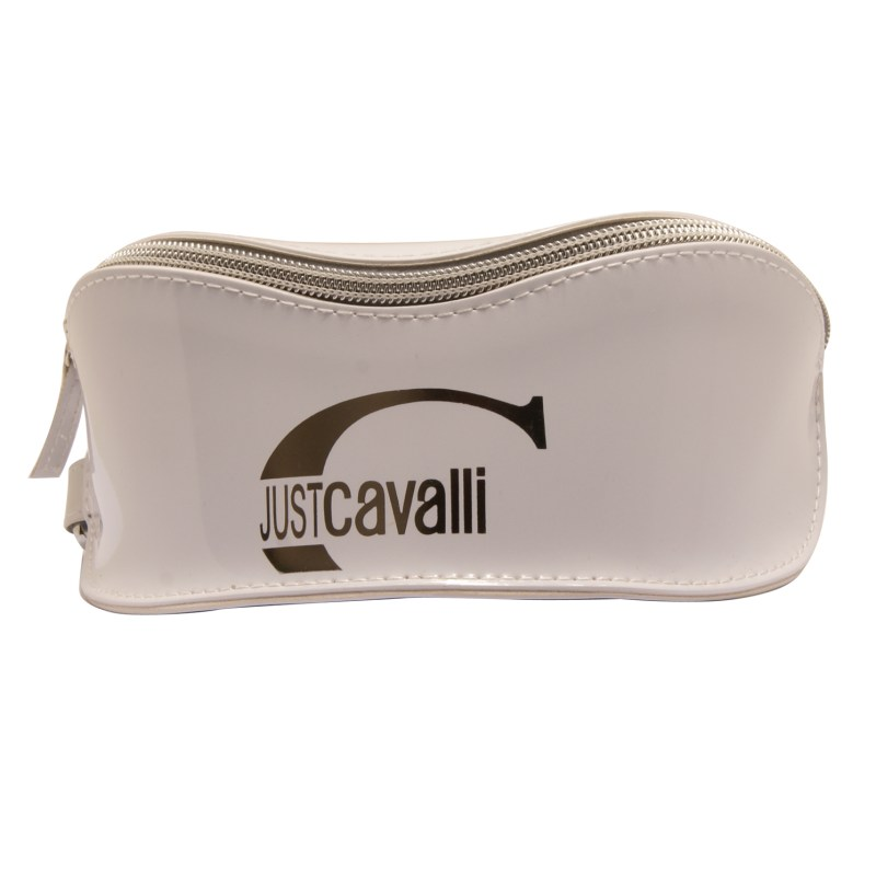 Just Cavalli – Green & Brown Gradient Oversized Sunglasses with Case