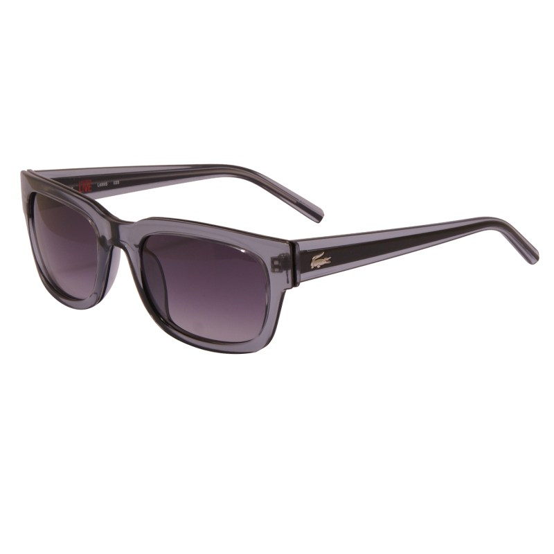 Lacoste Live – Crystal Grey Clear Classic Style Sunglasses with Case