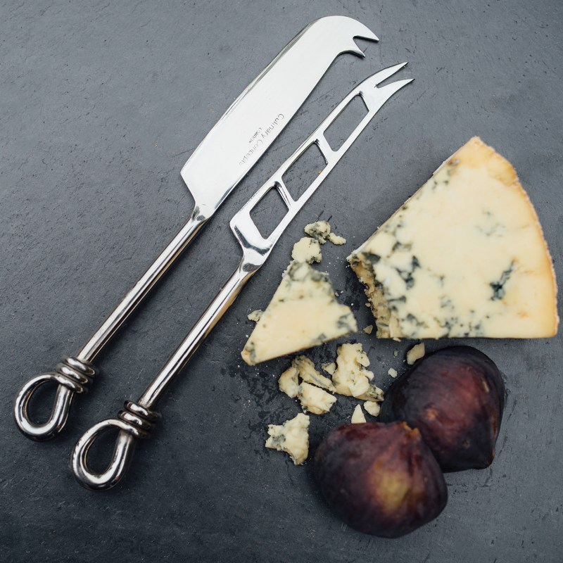 Culinary Concepts – Polished Knot Traditional Cheese & Soft Cheese Knife Set