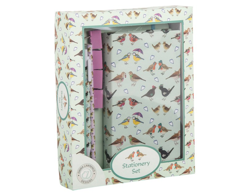 Emma Lawrence – I Love Birds Stationery Gift Boxed Set