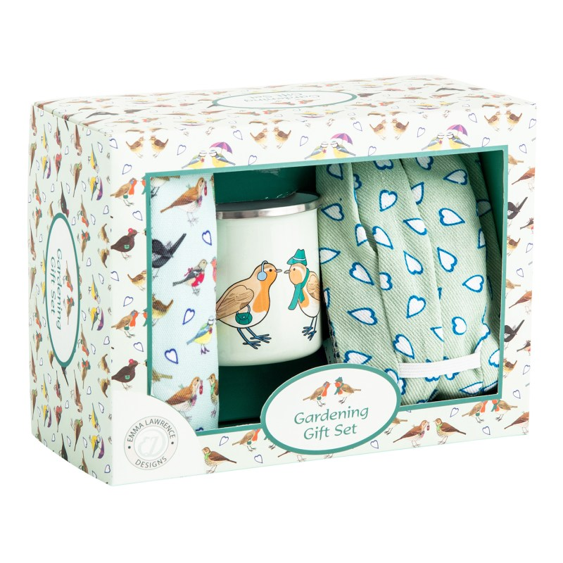 Emma Lawrence – I Love Birds Gardening Boxed Gift Set
