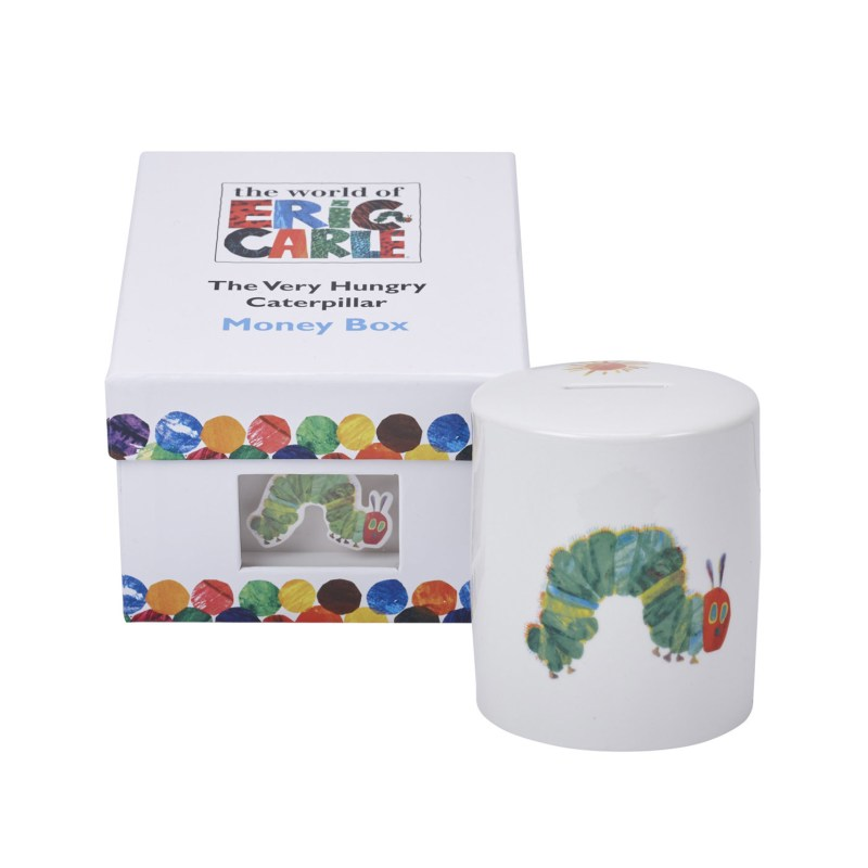 Portmeirion – The Very Hungry Caterpillar Money Box in Presentation Gift Box