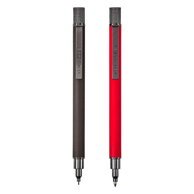 Ted Baker – Orange and Black Pen & Pencil Set in Presentation Gift Box