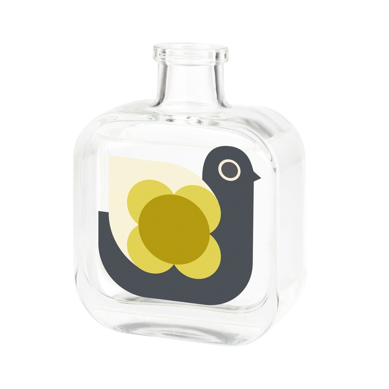 Orla Kiely – White Grapefruit & Basil Hen Moulded Reed Diffuser in Gift Box