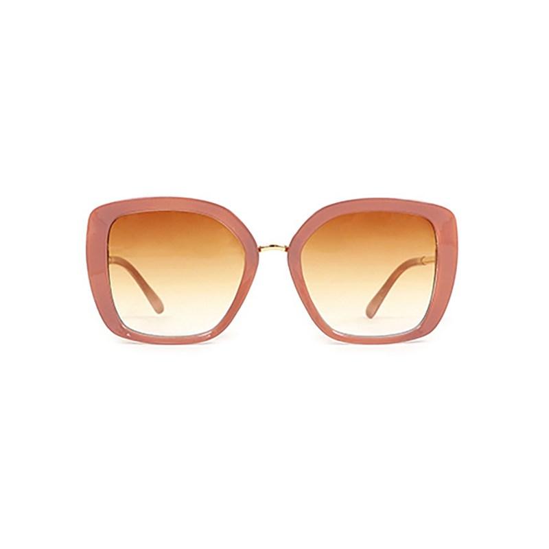 Powder – Nude Serenity Sunglasses with Box Case