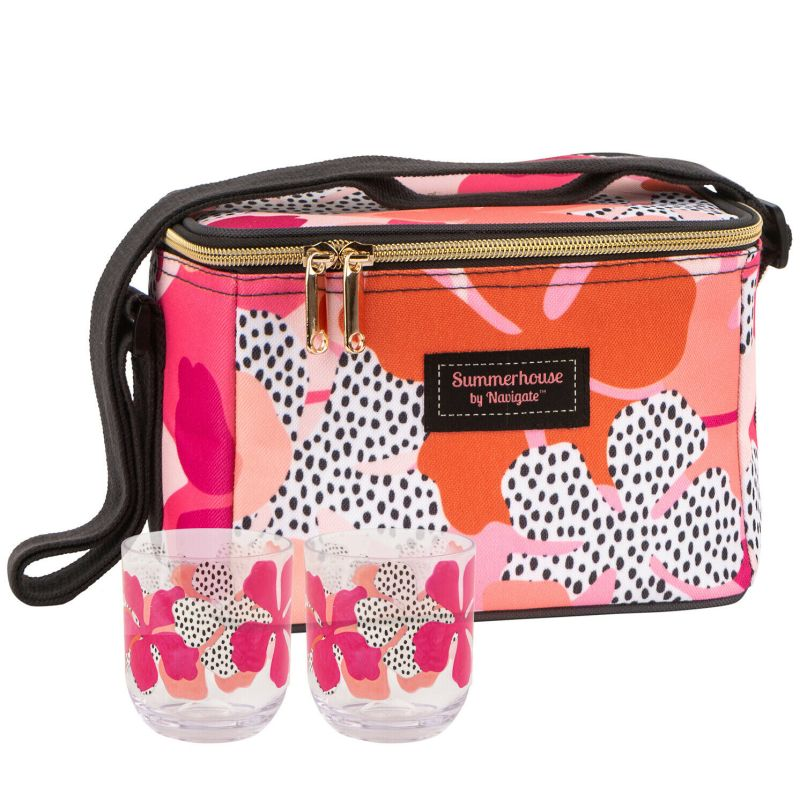Navigate – Summerhouse Tribal Fusion Personal Cool Bag with 2 Matching Tumblers