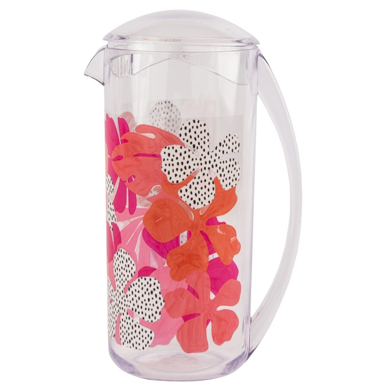 Navigate – Summerhouse Tribal Fusion Decorated Pitcher & 3 Matching Tumblers