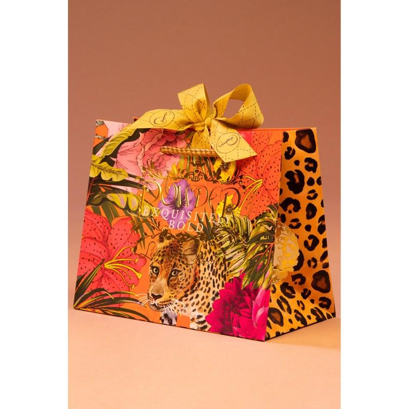 Powder – Champagne Beaded Velvet Padded Headband with Powder Presentation Bag