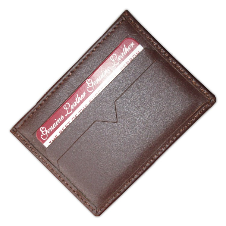 Hand made Leather Card Holde