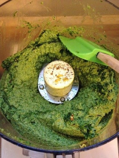 Scrape the sides of the bowl at least once during processing
