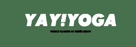 yay yoga logo