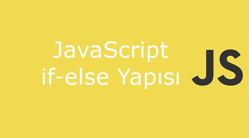 javascript if-else yapısı