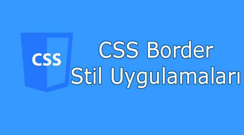 CSS border özellikleri