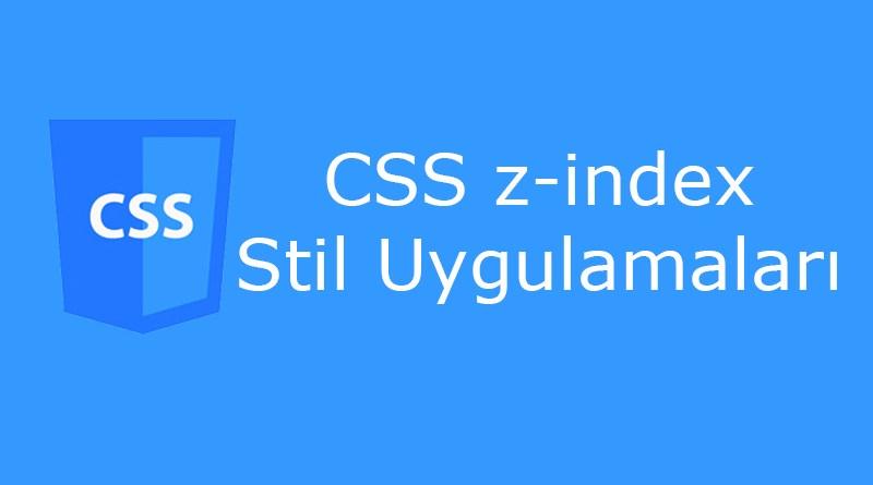 CSS z-index Özelliği