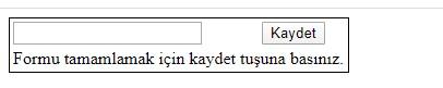 HTML datalist etiketi