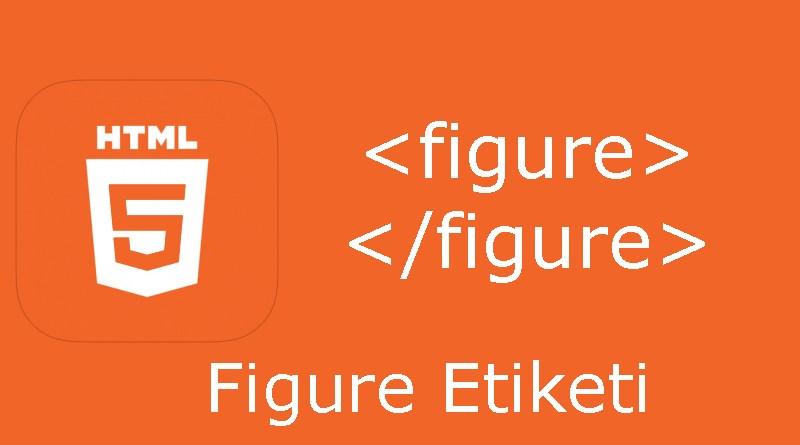 HTML figure etiketi