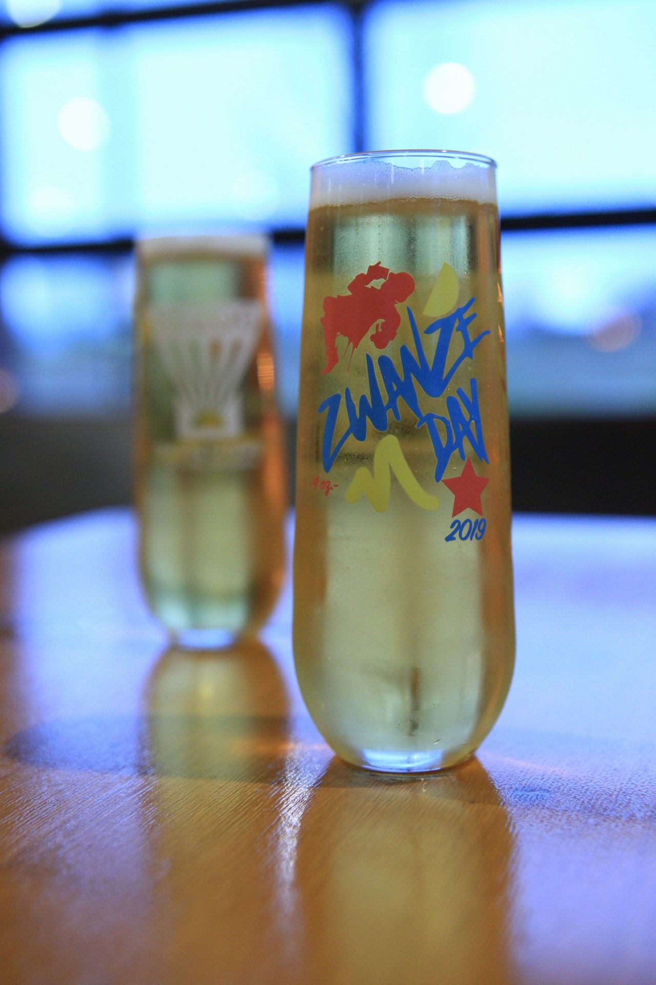 Limited edition Zwanze Day glass