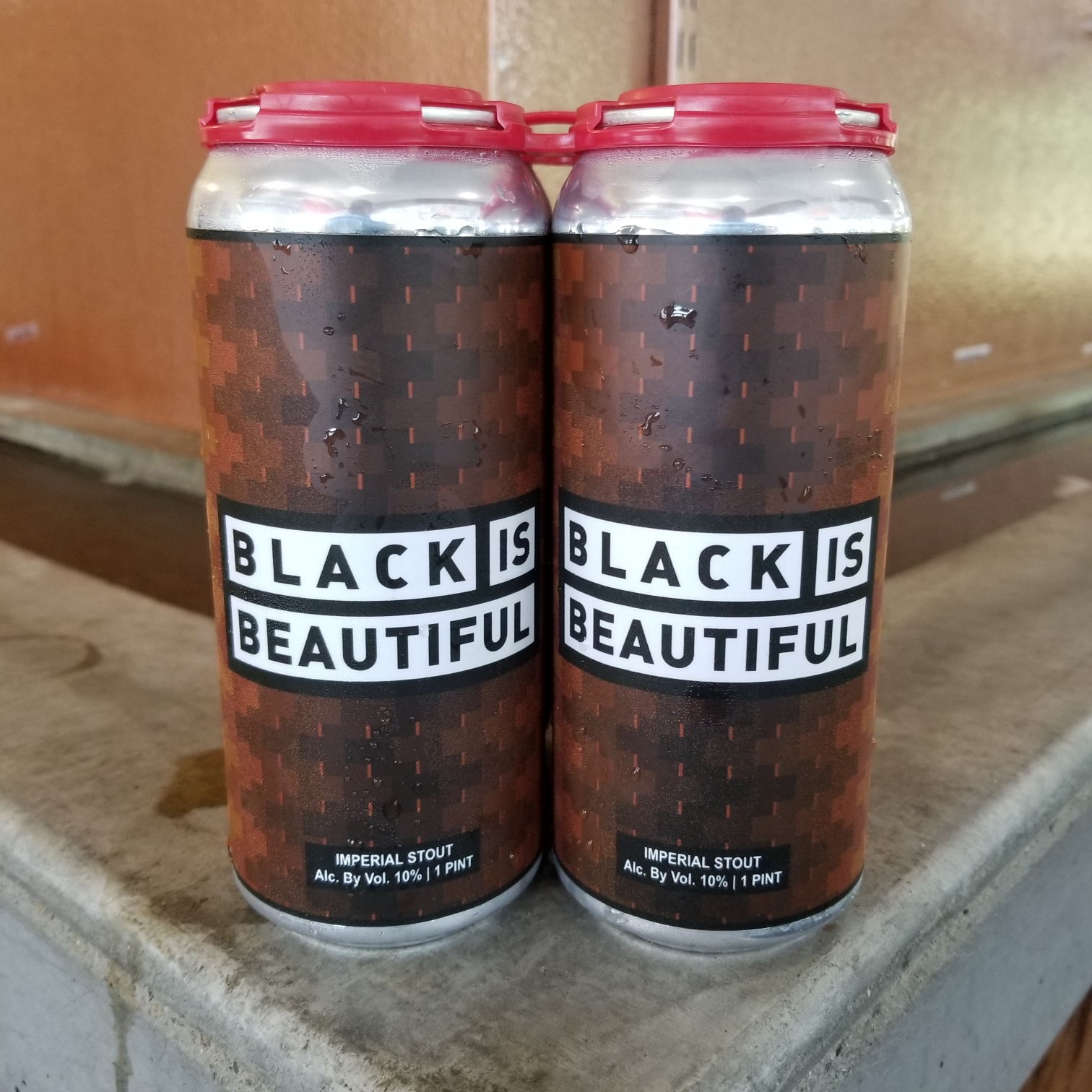 Black is Beautiful Imperial Stout (4pk)