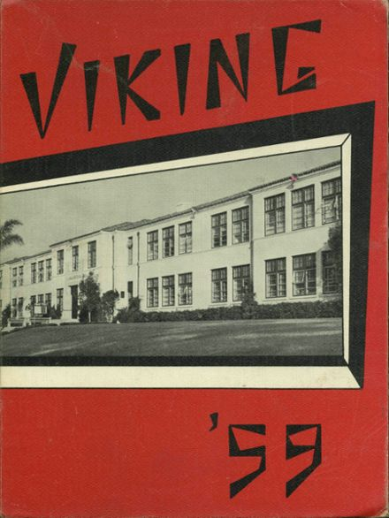 1959 La Jolla High School Yearbook Cover