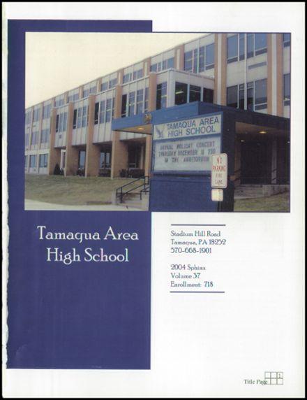 High 1965 Tamaqua School