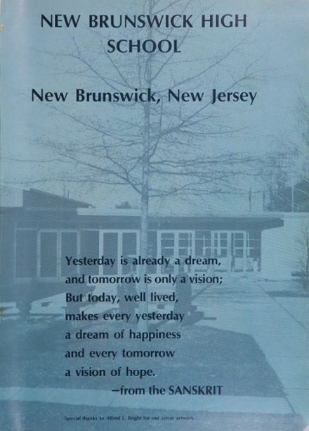 New Brunswick High School Yearbook