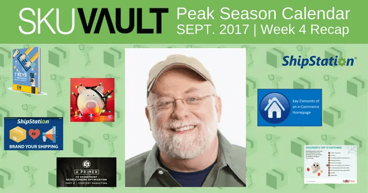 Countdown to Peak Season Calendar: Week 4 Recap