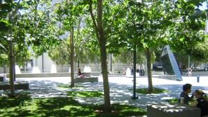 Photo of the Upper East Garden at Yerba Buena Gardens