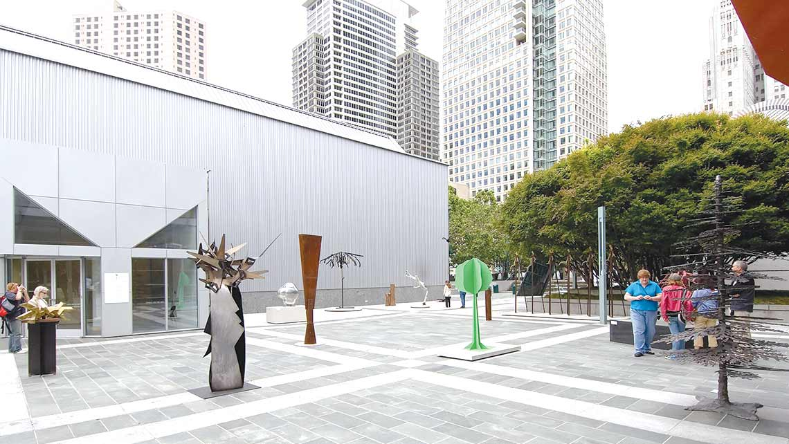 Photo of East Plaza at Yerba Buena Gardens with sculptures