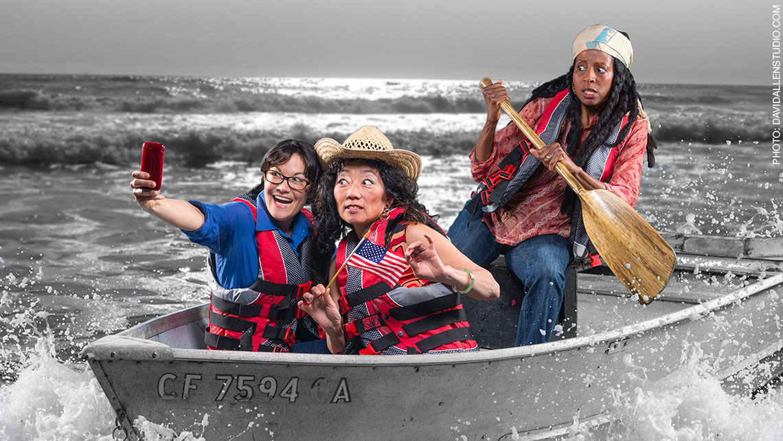 """Photo for San Francisco Mime Troupe's """"Ripple Effect"""""""