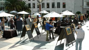 Photo of Artists Guild exhibition