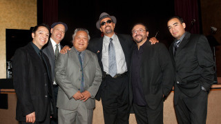 Photo of the John Santos Sextet