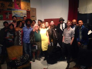 Photo of group at Red Poppy Art House