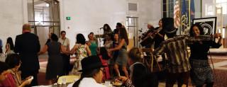 Dancing at the Latino Heritage Awards Reception