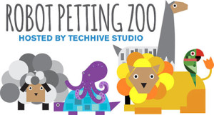Robot Petting Zoo illustration