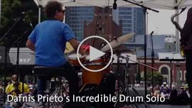 Video Link: Dafnis Prieto's Incredible Drum Solo