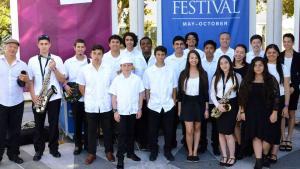 2015 Photo of Latin Jazz Youth Ensemble