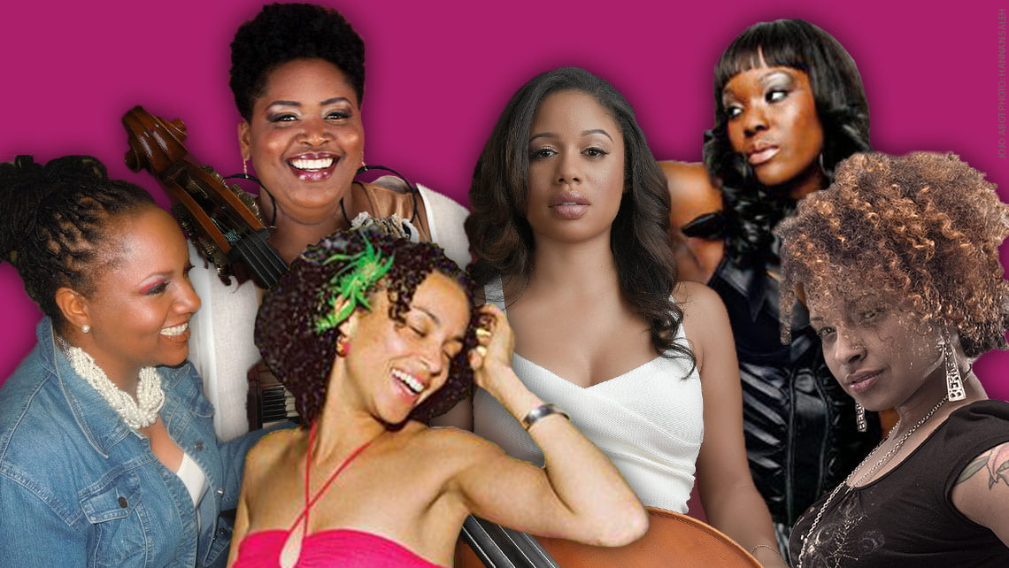 Photo collage of Jazz Herstory Collective
