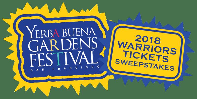 Yerba Buena Gardens Festival. 2018 Warriors Tickets Sweepstakes