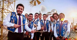 Photo of music group La Patronal