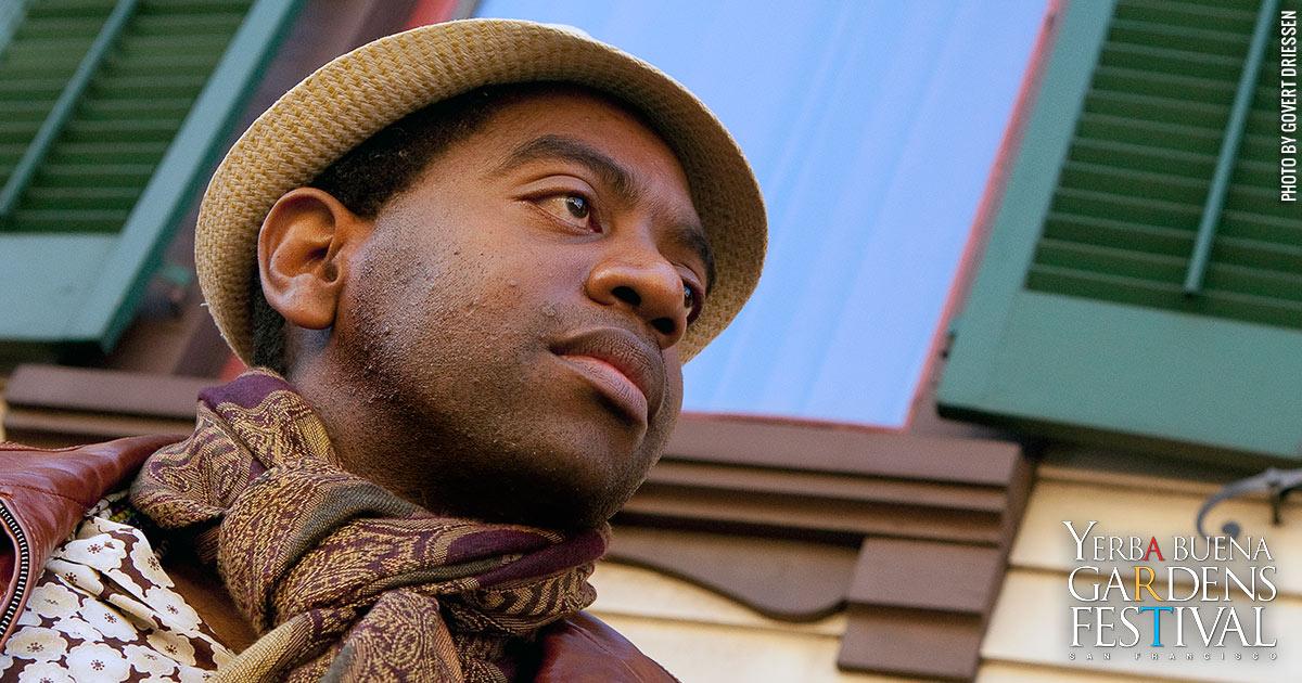 Photo of musician Yosvany Terry by Govert Driessen